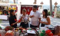 ประชาสัมพันธ์สินค้าเกษตรเวียดนามในงานนิทรรศการพริกนานาชาติ Rieti Cuore Piccante ณ ประเทศอิตาลี
