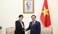 IFC มีความประสงค์ว่า จะกระชับความร่วมมือและพัฒนาตลาดเงินทุนในเวียดนาม