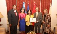 เวียดนามปฏิบัติหน้าที่ประธานหมุนเวียนคณะกรรมการอาเซียนในประเทศอาร์เจนตินา