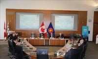 การสัมมนาเกี่ยวกับข้อตกลงการค้าเสรีระหว่างอาเซียนกับแคนาดา