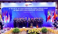 การประชุมครั้งที่ 9 กลุ่มปฏิบัติงานสภาประสานงานอาเซียนเกี่ยวกับการที่ติมอร์เลสเตขอเข้าเป็นสมาชิกอาเซียน
