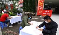 กองเยาวชนคอมมิวนิสต์โฮจิมินห์เรียกร้องให้สมาชิกกองเยาวชนและเยาวชนเข้าร่วมกิจกรรมบริจาคโลหิต