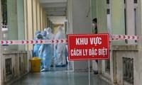 ผู้ติดเชื้อโรคโควิด-19รายใหม่ที่เดินทางจากต่างประเทศถูกแยกตัวทันทีหลังจากเดินทางถึงเวียดนาม