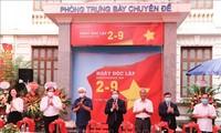 เปิดนิทรรศการเกี่ยวกับการปฏิวัติเดือนสิงหาคมและวันชาติเวียดนาม 2 กันยายน