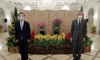 จีนพร้อมประสานงานกับอาเซียนเพื่อส่งเสริมสันติภาพในภูมิภาคและโลก