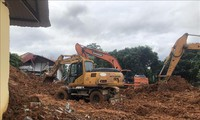 รัฐบาลชี้นำงานด้านการแก้ไขผลเสียหายจากเหตุน้ำท่วมและฝนตกหนัก