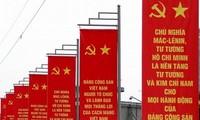 ผู้นำประเทศต่างๆ ผู้เชี่ยวชาญและสื่อต่างประเทศชื่นชมบทบาทการนำของพรรคคอมมิวนิสต์เวียดนาม