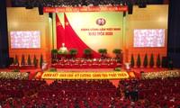 ยืนหยัดเป้าหมายและความคาดหวังอันแรงกล้าเกี่ยวกับประเทศเวียดนามที่พัฒนาอย่างเข้มแข็งและรุ่งเรือง