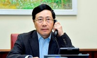 เวียดนามและสหรัฐเห็นพ้องที่จะกระชับความร่วมมือเพื่อนำความสัมพันธ์ทวิภาคีพัฒนาในทุกด้าน