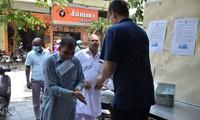 ชาวมุสลิมอินโดนีเซียในกรุงฮานอยฉลองเทศกาลถือศีลอดในช่วงการแพร่ระบาดของโรคโควิด-19