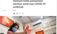 สื่อต่างชาติรายงานว่า การเลือกตั้งทั่วไปในเวียดนามดำเนินไปอย่างปลอดภัย