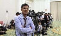 นักข่าวชาวเขมร แยงแจงดา ได้รับเหรียญอิสริยาภรณ์มิตรภาพและความร่วมมือระหว่างประเทศ