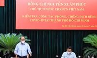 ประธานประเทศเหงวียนซวนฟุกกำชับให้ผลักดันการทดสอบวัคซีนNanocovax