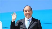 越南国家主席阮春福离开美国纽约回国