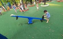 Patios de recreo al aire libre para menores de Hanói