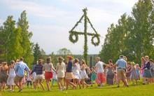 Swedish Midsummer festival