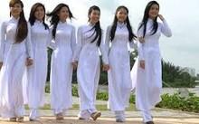 赞美越南奥黛的一组歌曲