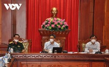 Вице-премьер Вьетнама Ву Дык Дам провел рабочую встречу с руководством провинции Тиензянг по борьбе с коронавирусом