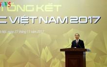 Chủ tịch nước Trần Đại Quang dự lễ tổng kết Năm APEC 2017