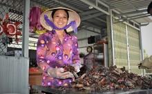 """El cangrejo salado """"Ba khia"""": patrimonio cultural inmaterial de Ca Mau"""