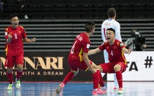 Vietnam advance to Futsal World Cup knockout stage after draw with Czech Republic