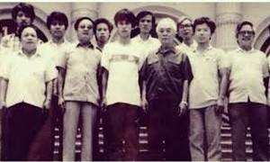 Photo exhibition on General Vo Nguyen Giap with capital city's youth