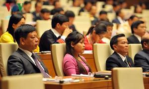Les électeurs s'intéressent à la première session de l'Assemblée nationale (14ème législature)