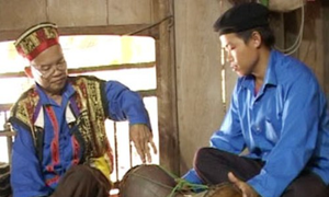 Clay drum, the traditional musical instrument of Cao Lan ethnic people