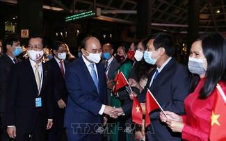 Presiden Nguyen Xuan Phuc Tiba di AS, Mulai Program Hadiri MU PBB