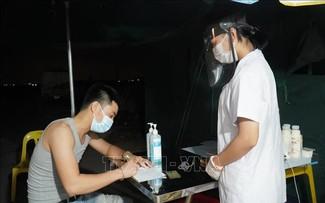 Continúa el descenso de casos en Bac Giang mientras se detectan nuevos casos en Da Nang