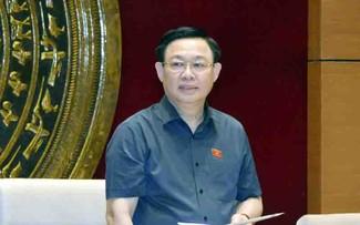 La legislación debe servir al desarrollo, afirma el presidente de la Asamblea Nacional