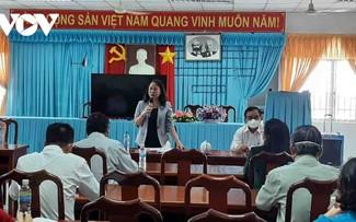 La vicepresidenta Vo Thi Anh Xuan pide mayor atención para personas necesitadas de Tien Giang