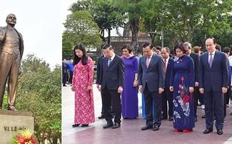 Líderes de Hanói homenajean a Lenin