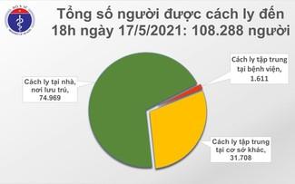 Reportan 147 nuevos casos de covid-19 en Vietnam en las últimas 12 horas