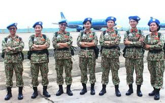 Vietnam valora el papel de las mujeres en el mantenimiento de la paz