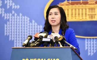 越南就中国正式施行《海上交通安全法》做出反应