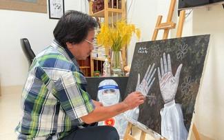 九龙江平原地区艺术家为抗疫鼓劲