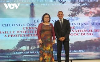 Le gouvernement français honore Nguyên Thi Ngoc Dung