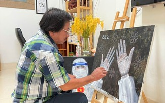 Mekong Delta artists join fight against COVID-19