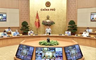 Premierminister: Bis Ende September wird soziale Distanzierung mit Kontrolle gelockert