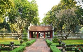 Werte des Literaturtempels in Hanoi wecken