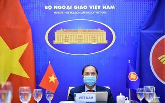 Enge Zusammenarbeit zur Aufrechterhaltung des Friedens, der Sicherheit und der Stabilität in der Region