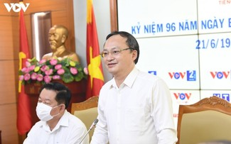 越南之声向党、国家、国会、政府领导人致谢