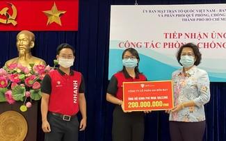 Ho Chi Minh City citizens contribute to COVID-19 Vaccine Fund