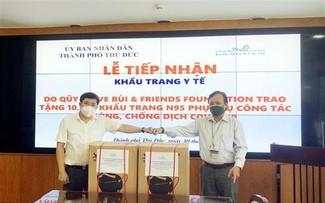 Vietnamese community abroad supports HCMC's COVID-19 fight