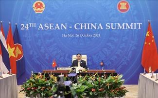 ASEAN-Tiongkok Perkokoh Kepercayaan Strategis, Tegakkan Lingkungan yang Bersahabat, Stabil, dan Bersama Berkembang
