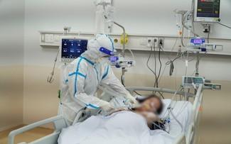 Estoica labor del personal del hospital de Reanimación Covid-19