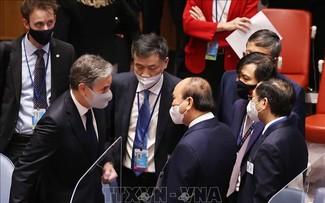 Presidente vietnamita se reúne con líderes participantes en el debate de la Asamblea General de la ONU