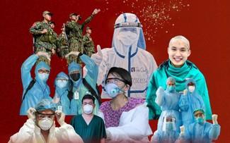 """50 nghệ sĩ cùng hòa giọng """"Sức mạnh Việt Nam"""" cổ vũ tuyến đầu chống dịch"""
