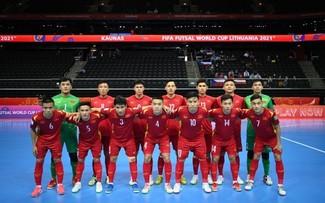 Futsal: Le Vietnam entre dans les huitièmes de finale de la Coupe du monde 2021